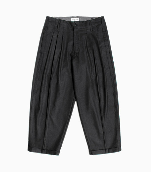YMC Creole Peg Wool Trouser - Charcoal Trousers - CARTOCON
