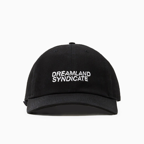 Dreamland Syndicate Core Logo Cap - Black Hat - CARTOCON