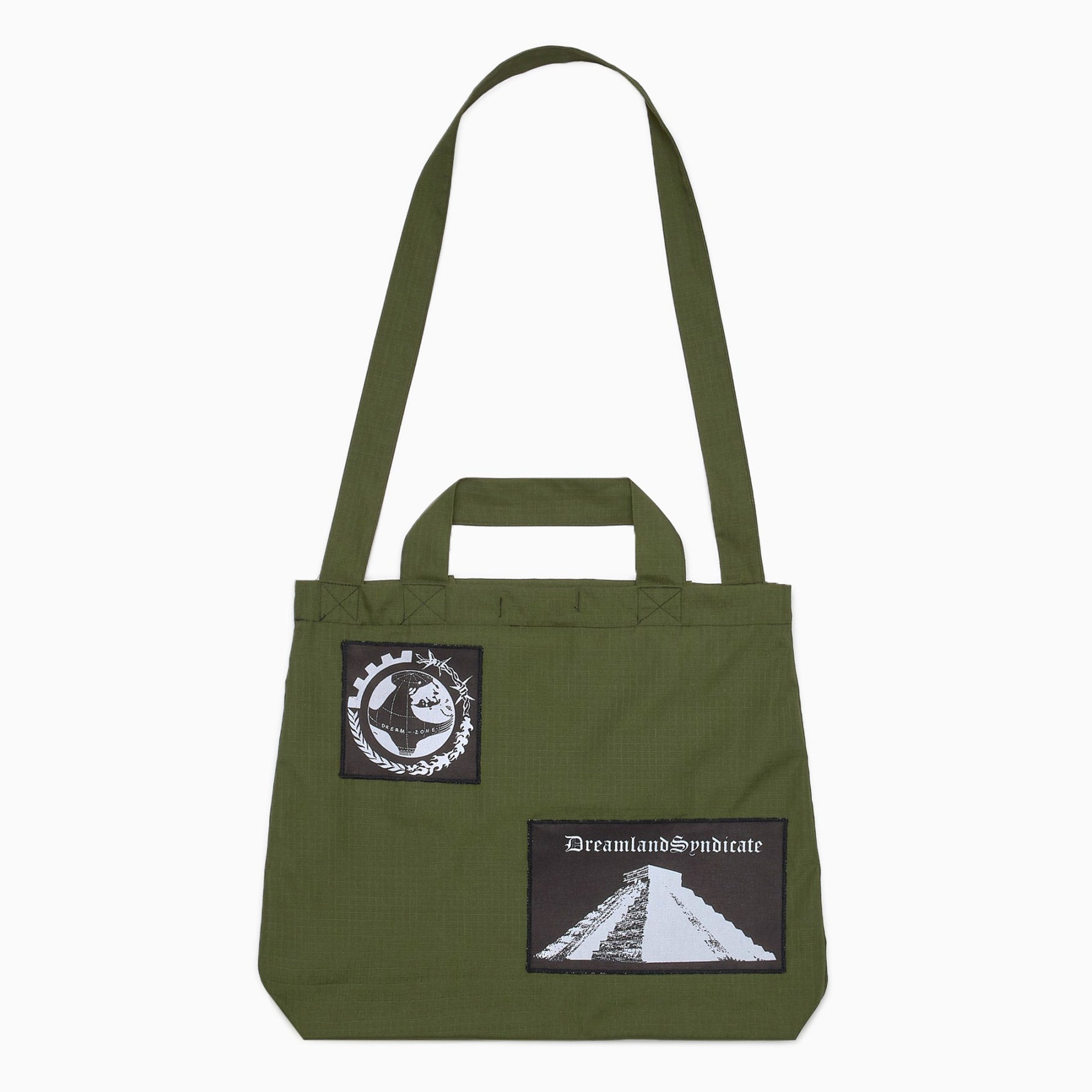 Dreamland Syndicate Ripstop Tote Bag - Khaki Bag - CARTOCON