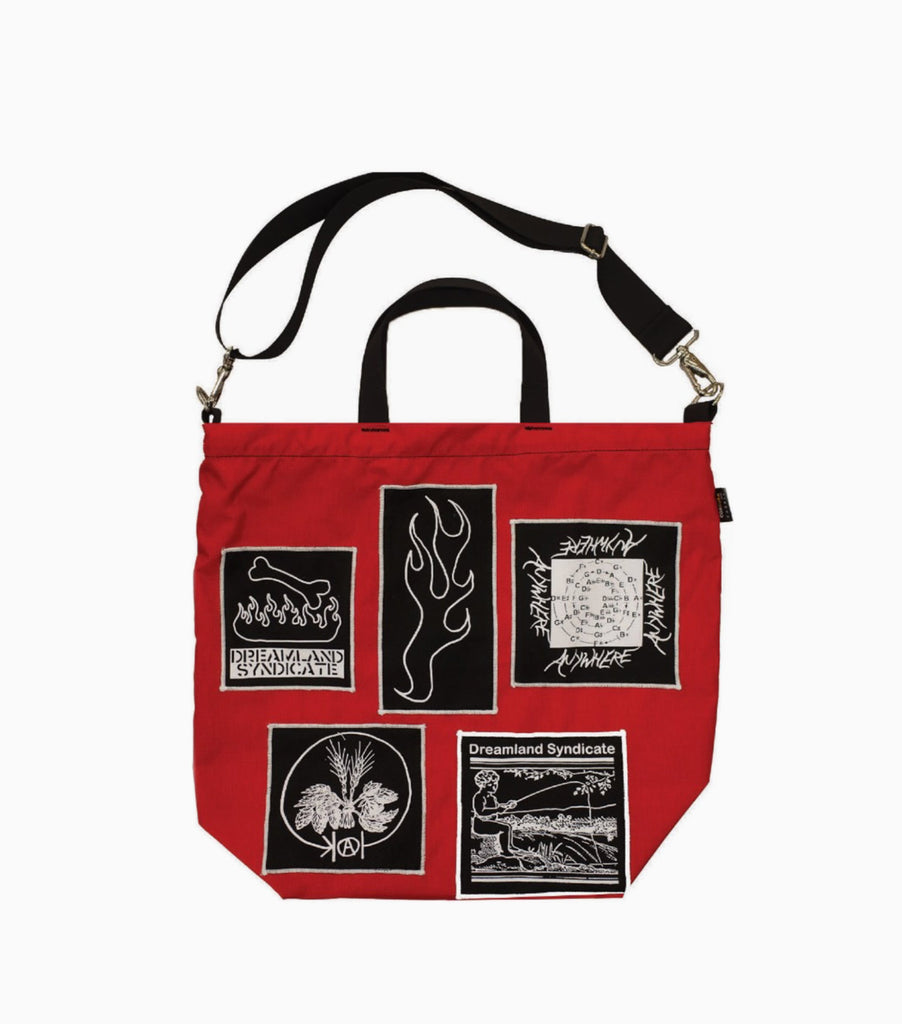 Dreamland Syndicate ZWRK Heavy Duty Tote Bag - Red