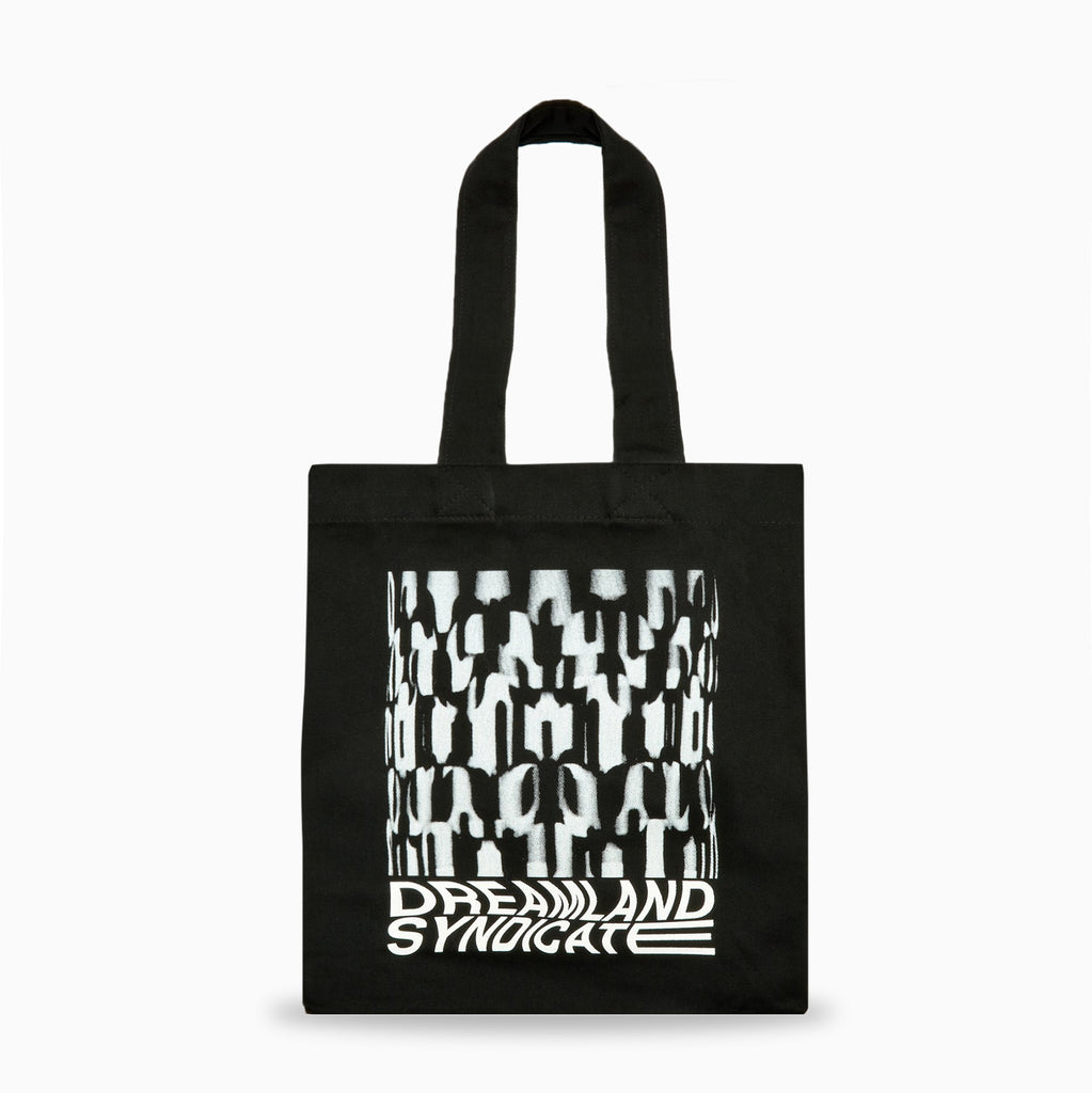 Dreamland Syndicate Flicker Tote Bag - Black