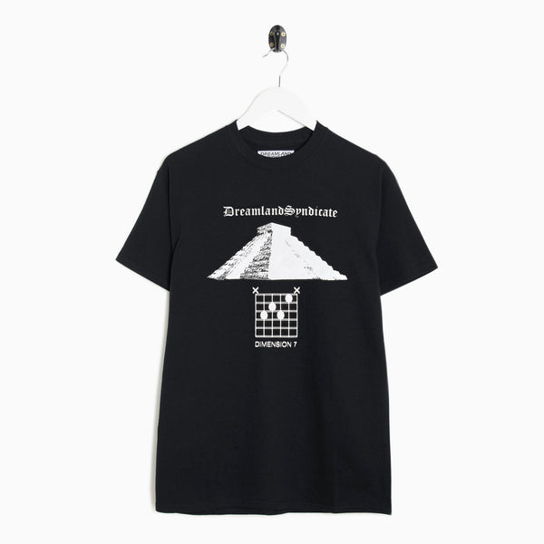 Dreamland Syndicate Dee Seven T-Shirt - Black T-Shirt - CARTOCON