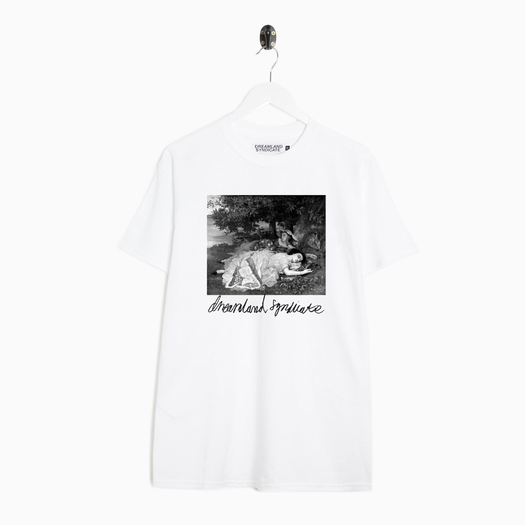 Dreamland Syndicate Ladies T-Shirt - White T-Shirt - CARTOCON