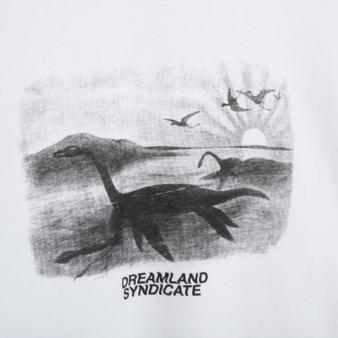 Dreamland Syndicate Dino T-Shirt - White Not Listed - CARTOCON
