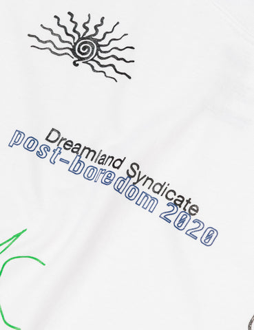 Dreamland Syndicate Post Tribal T-Shirt - White