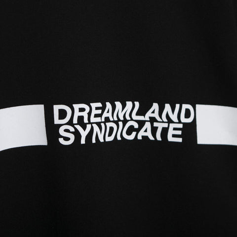 Dreamland Syndicate Contrast Bob Logo T-Shirt - Black Not Listed - CARTOCON