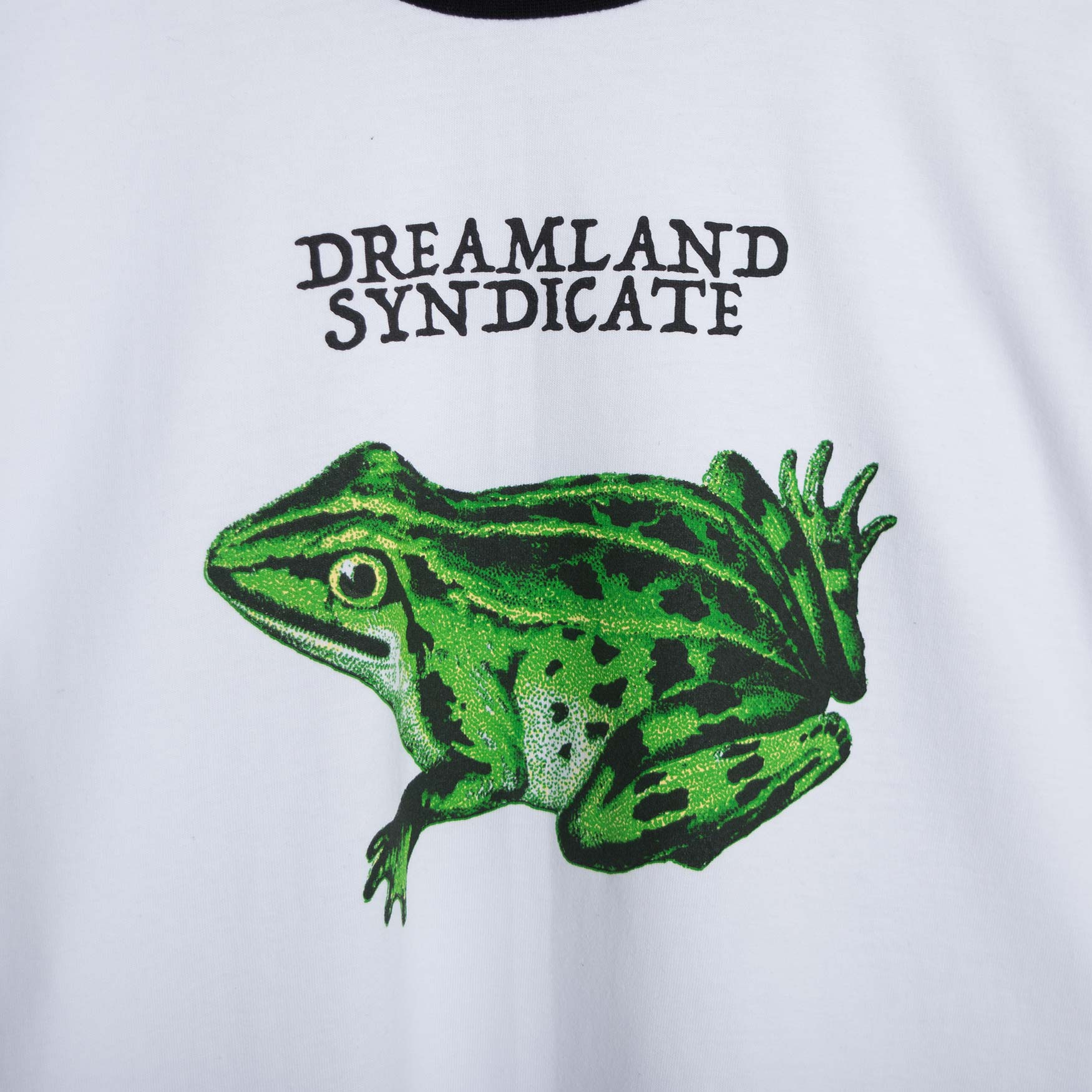 Dreamland Syndicate Contrast Zaba Long Sleeve T-Shirt - White