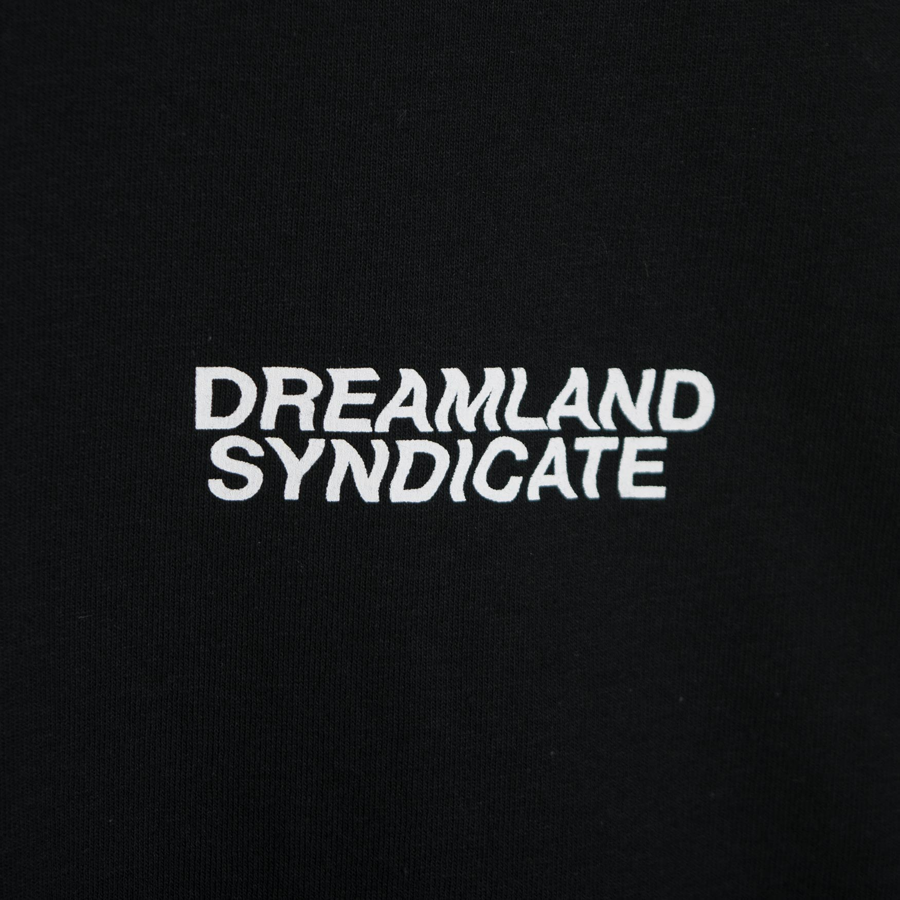 Dreamland Syndicate Contrast Core Logo Long Sleeve T-Shirt - Black