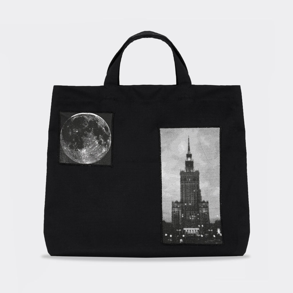 Dreamland Syndicate Warsaw Ripstop Tote Bag - Black