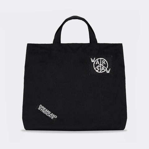 Dreamland Syndicate Warsaw Ripstop Tote Bag - Black Not Listed - CARTOCON