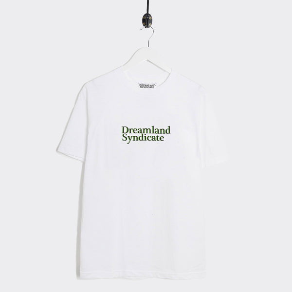 Dreamland Syndicate Logo T-Shirt - White