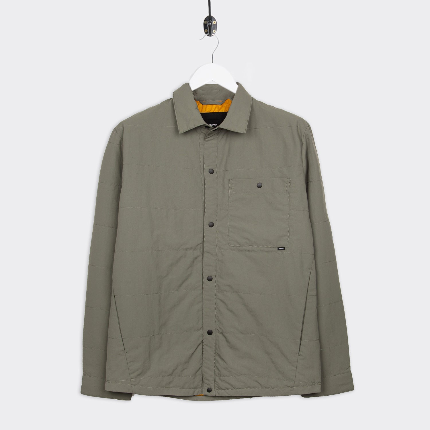 Finisterre Terminus Quilted Jacket - Bayleaf