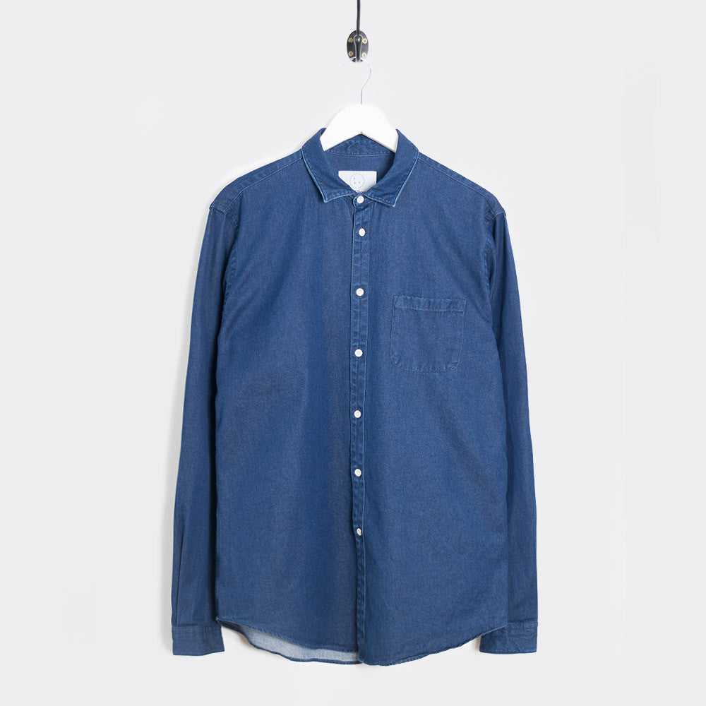 Form & Thread Essential Shirt - Indigo Denim Not Listed - CARTOCON