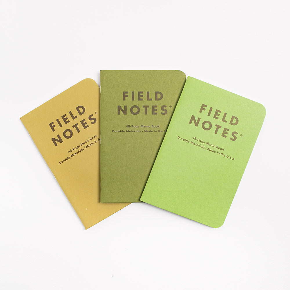 Field Notes 3-pack Notebooks - Shenandoah Edition Other Stuff - CARTOCON