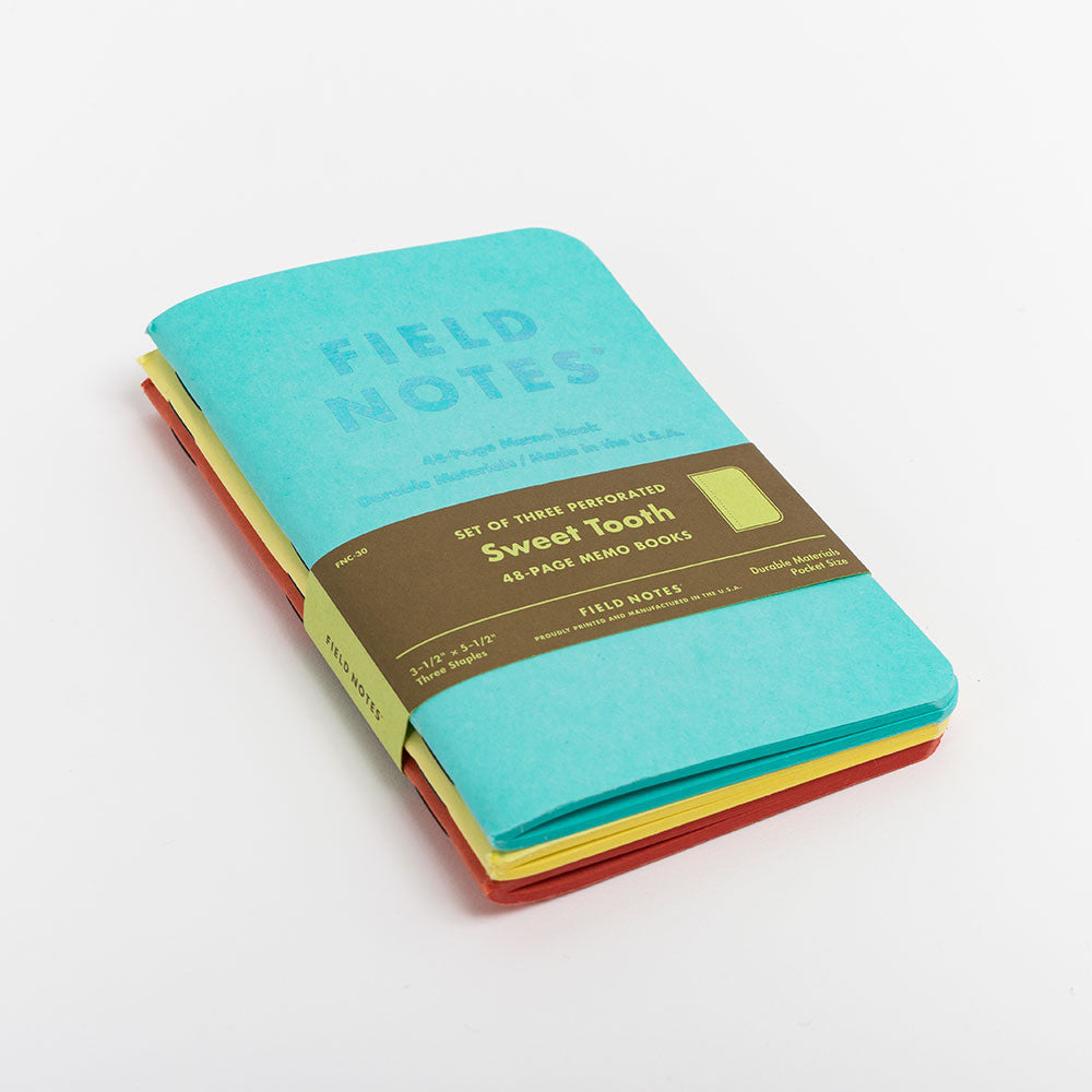 Field Notes Sweet Tooth Notebooks 3-Pack - 2