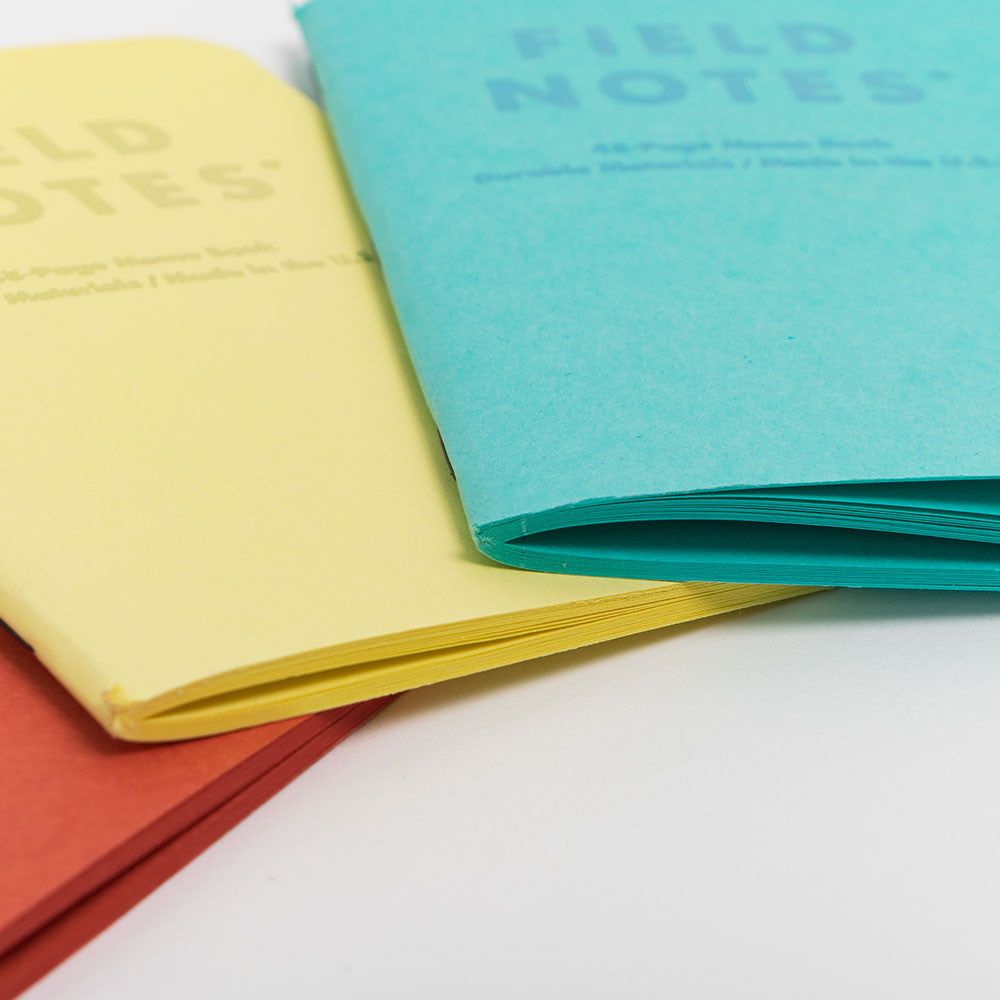 Field Notes Sweet Tooth Notebooks 3-Pack - 3