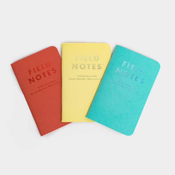 Field Notes Sweet Tooth Notebooks 3-Pack - 1