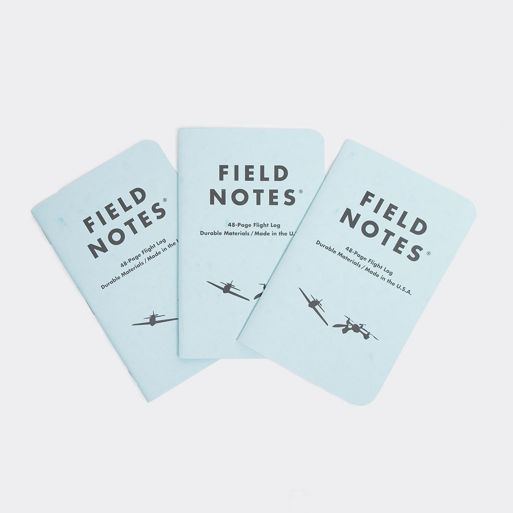 Field Notes 3-pack Notebooks - Tested Flight Log Edition