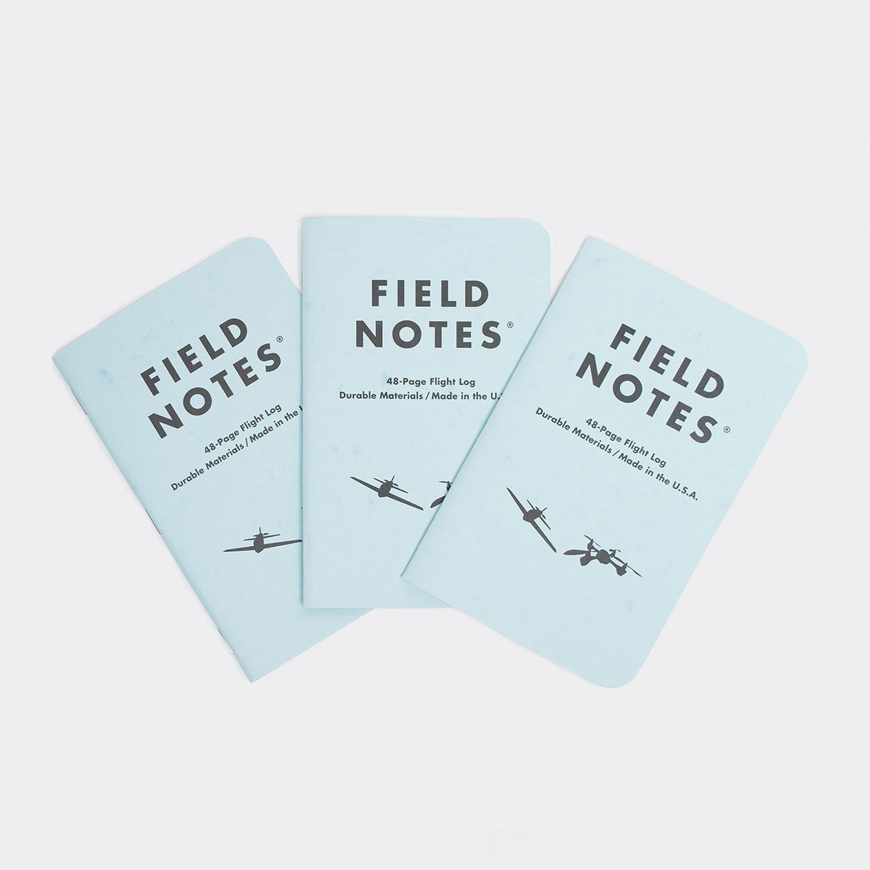 Field Notes 3-pack Notebooks - Tested Flight Log Edition Other Stuff - CARTOCON