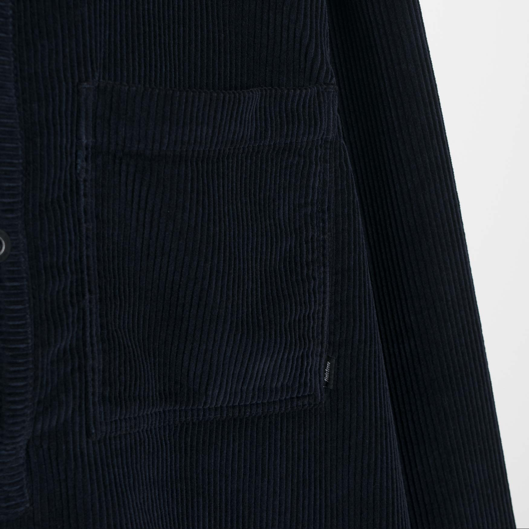 Finisterre Fishermans Corduroy Shirt - Navy Shirt - CARTOCON