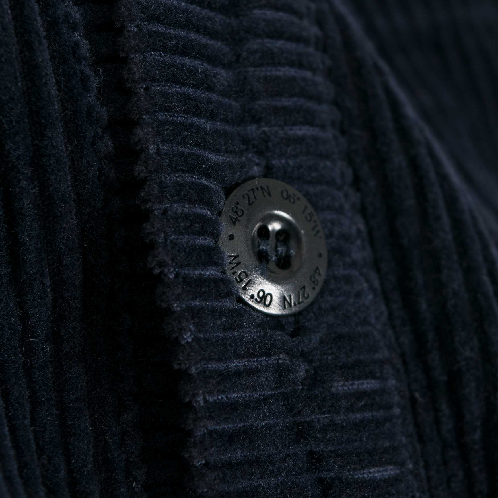 Finisterre Fishermans Corduroy Shirt - Navy