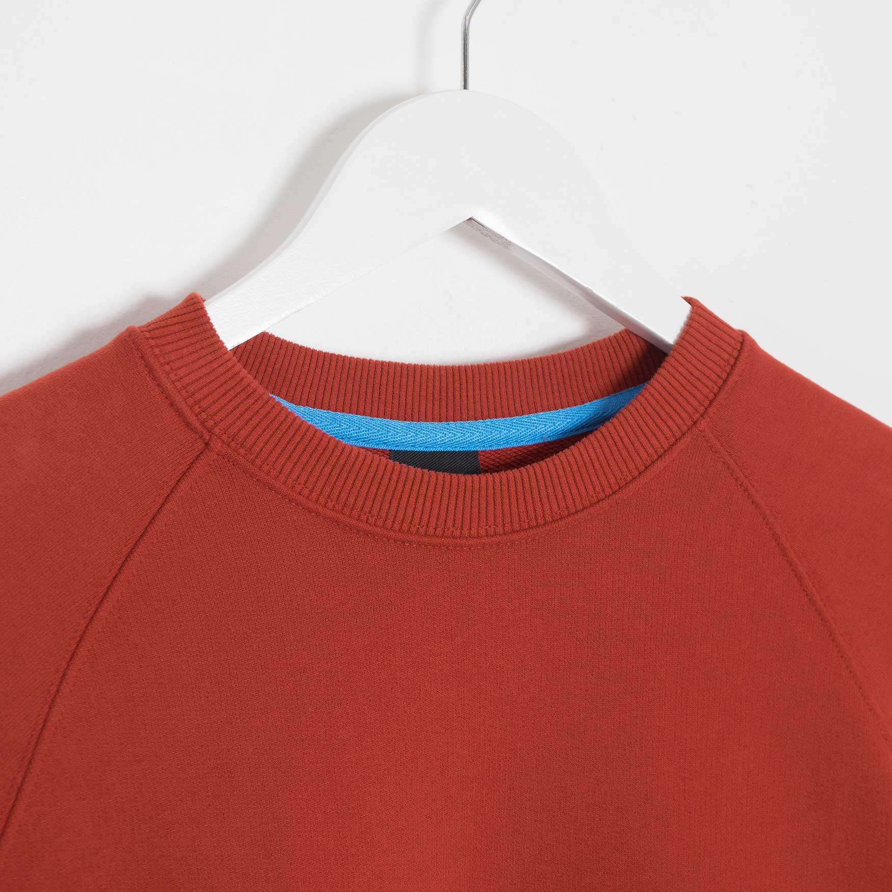 Finisterre Coho Sweatshirt - Red Clay  - CARTOCON