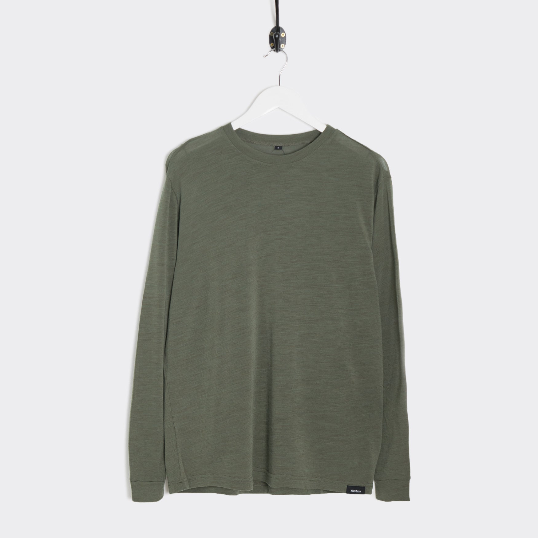 Finisterre Fiske Baselayer Merino Crew - Laurel T-Shirt - CARTOCON