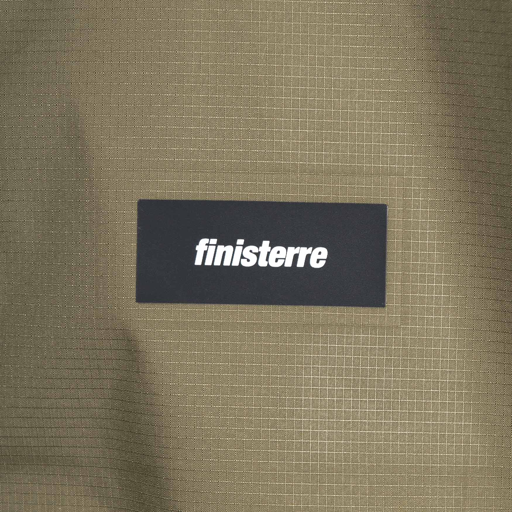 Finisterre Autan Waterproof Jacket - Olive Green - CARTOCON