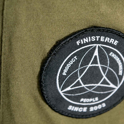 Finisterre PEP Pocket T-Shirt - Olive Not Listed - CARTOCON