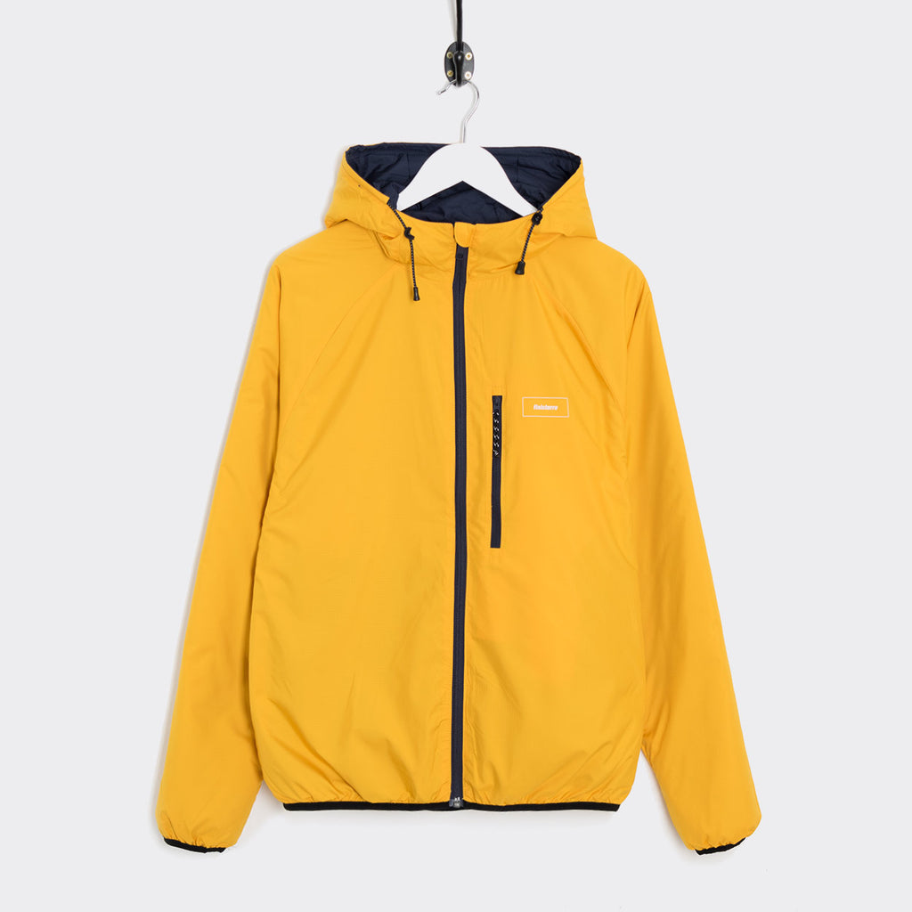 Finisterre Aeris Reversible Jacket - Navy/Sunshine