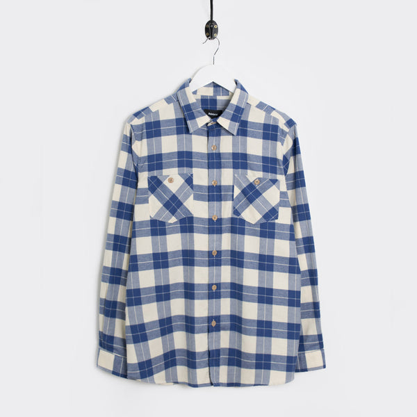 Finisterre Lumber Shirt - Mariner Check - 1