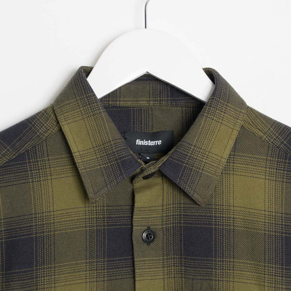 Finisterre Keplar Shirt - Forest Check - 2