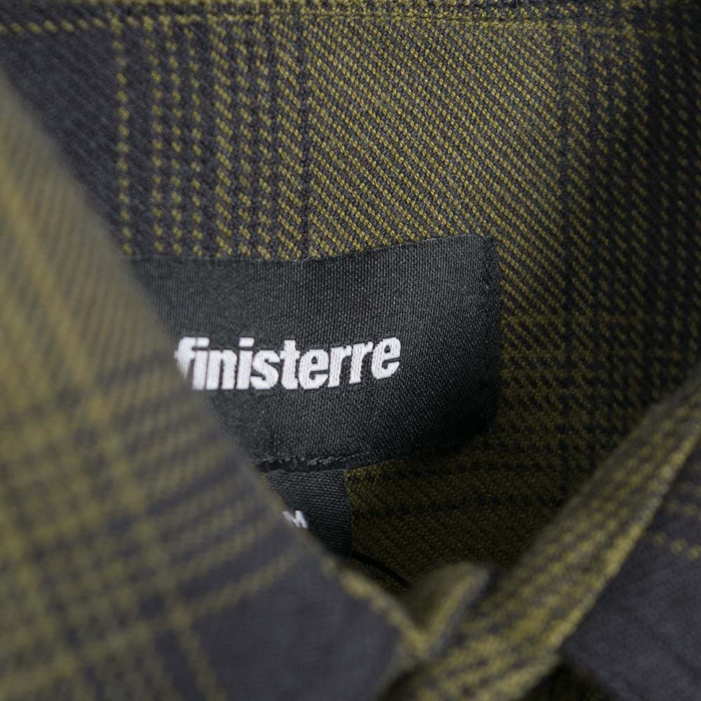 Finisterre Keplar Shirt - Forest Check - 3