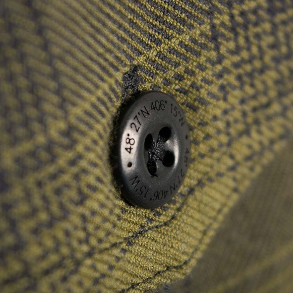 Finisterre Keplar Shirt - Forest Check - 4