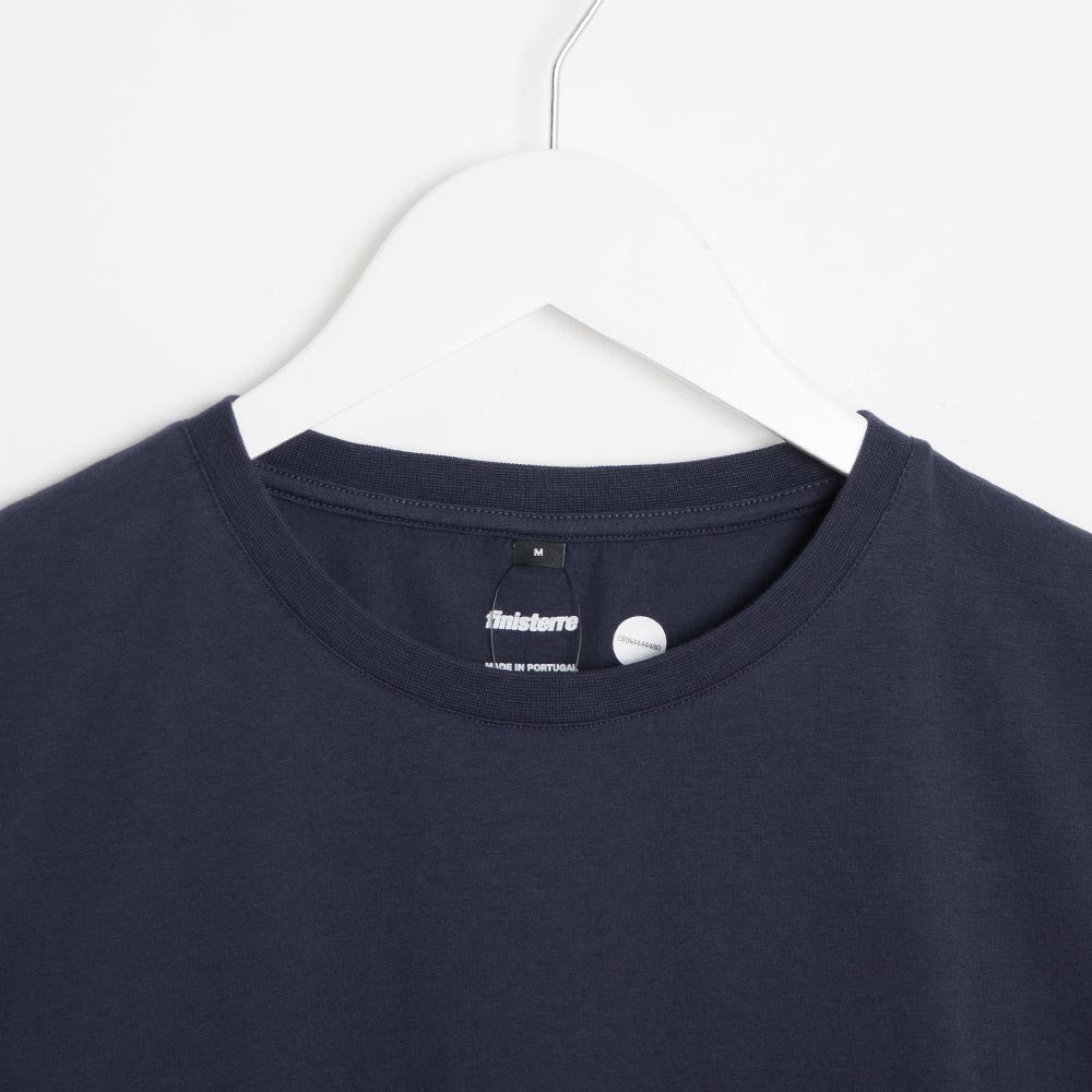 Finisterre Coordindinates T-Shirt - Navy  - CARTOCON