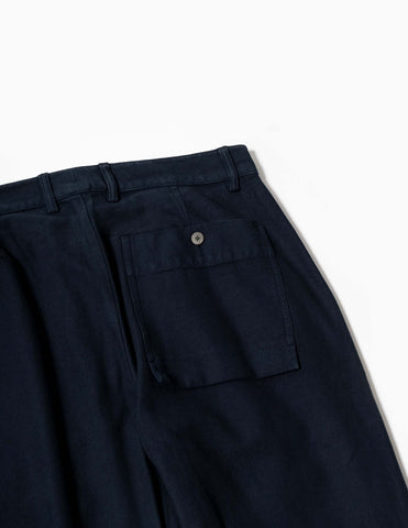 Folk Plinth Pant - Navy