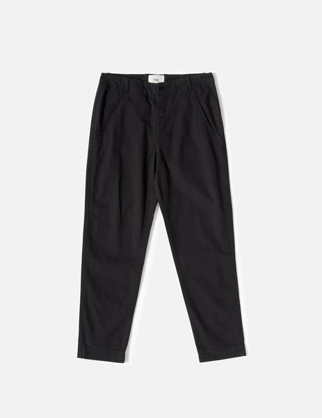 Folk Lean Assembly Trousers - Soft Black