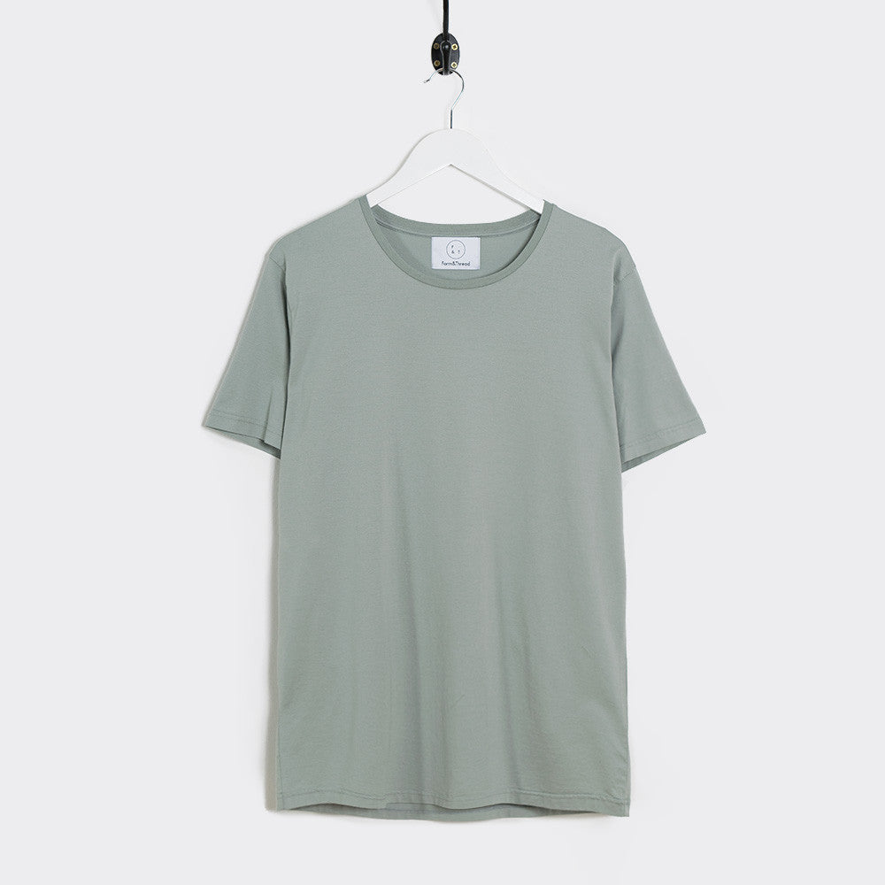 Form & Thread Essential T-Shirt - Grey Sage - 1