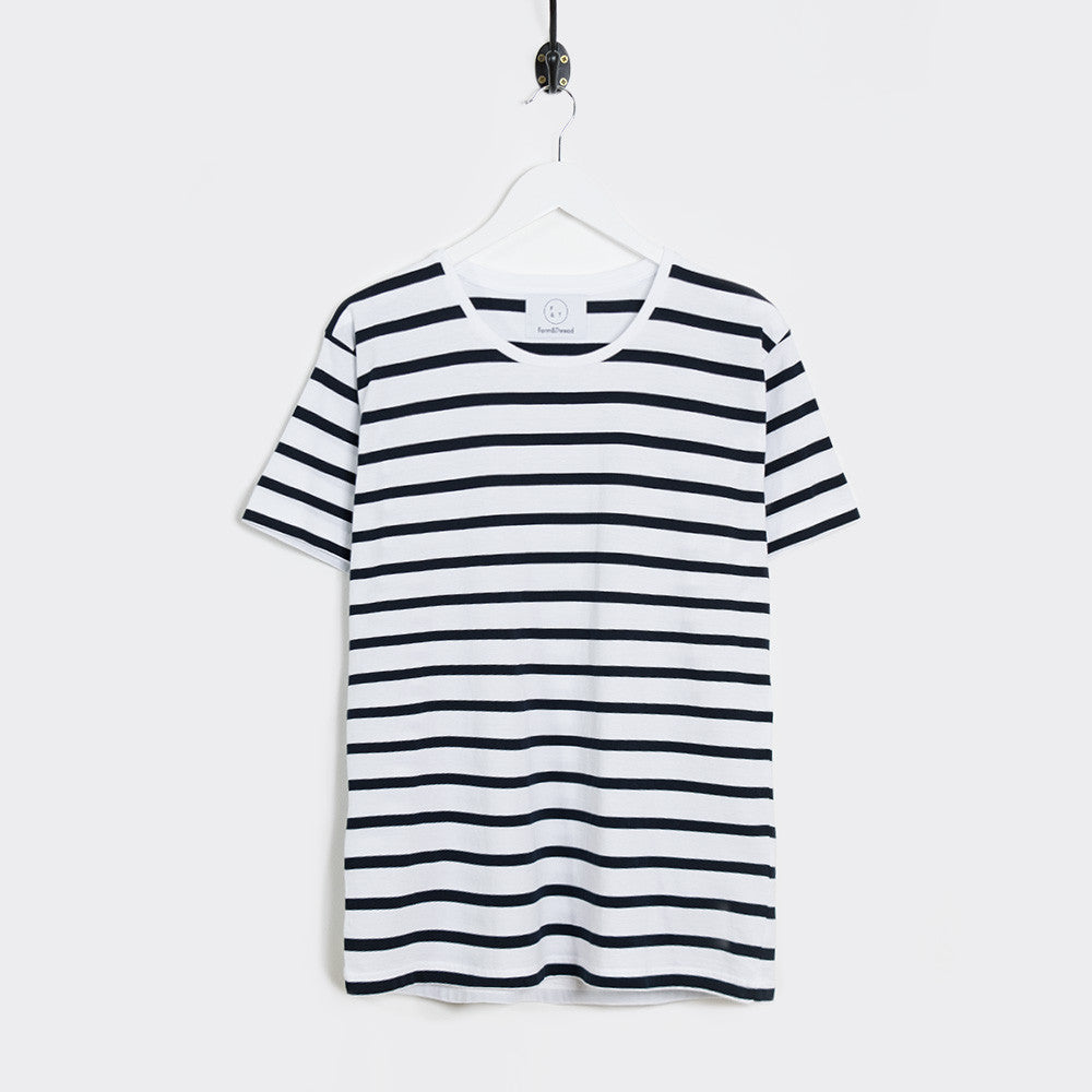 Form & Thread Essential T-Shirt - Breton Stripe - 1