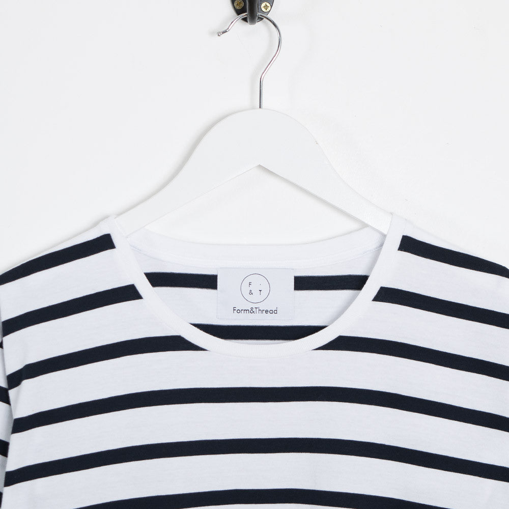 Form & Thread Essential T-Shirt - Breton Stripe - 2