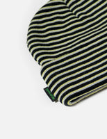 Fucking Awesome Striped Cuff Beanie - Neon Green/Black