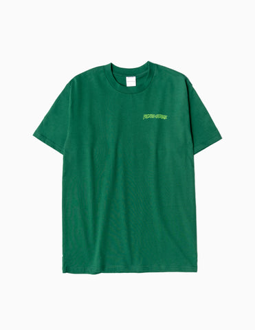 Fucking Awesome Finis Tee - Dark Green T-Shirt - CARTOCON