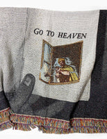 Fucking Awesome Go To Heaven Tapestry Throw - Multi