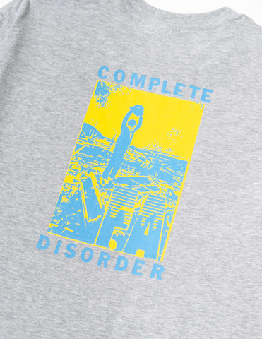 Fucking Awesome Disorder T-Shirt - Grey