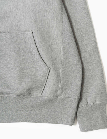 Fucking Awesome Actual Visual Guidance Hoodie - Heather Grey