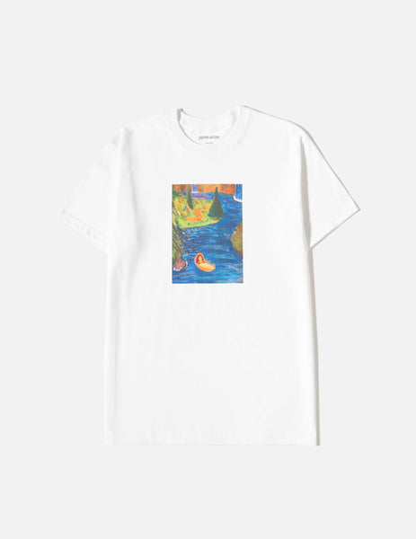 Fucking Awesome Floating Baby T-Shirt - White