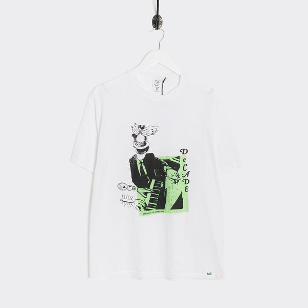 Garbstore x Brain Dead Decade Tee - White T-Shirt - CARTOCON