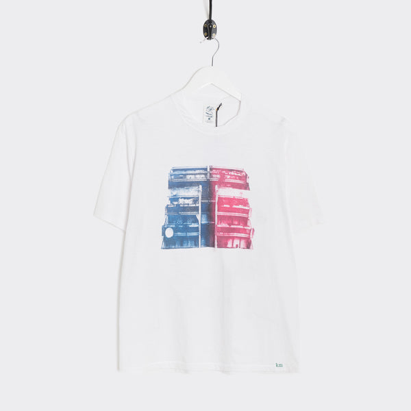 Garbstore x Kenneth Mackenzie Decade Tee - White T-Shirt - CARTOCON