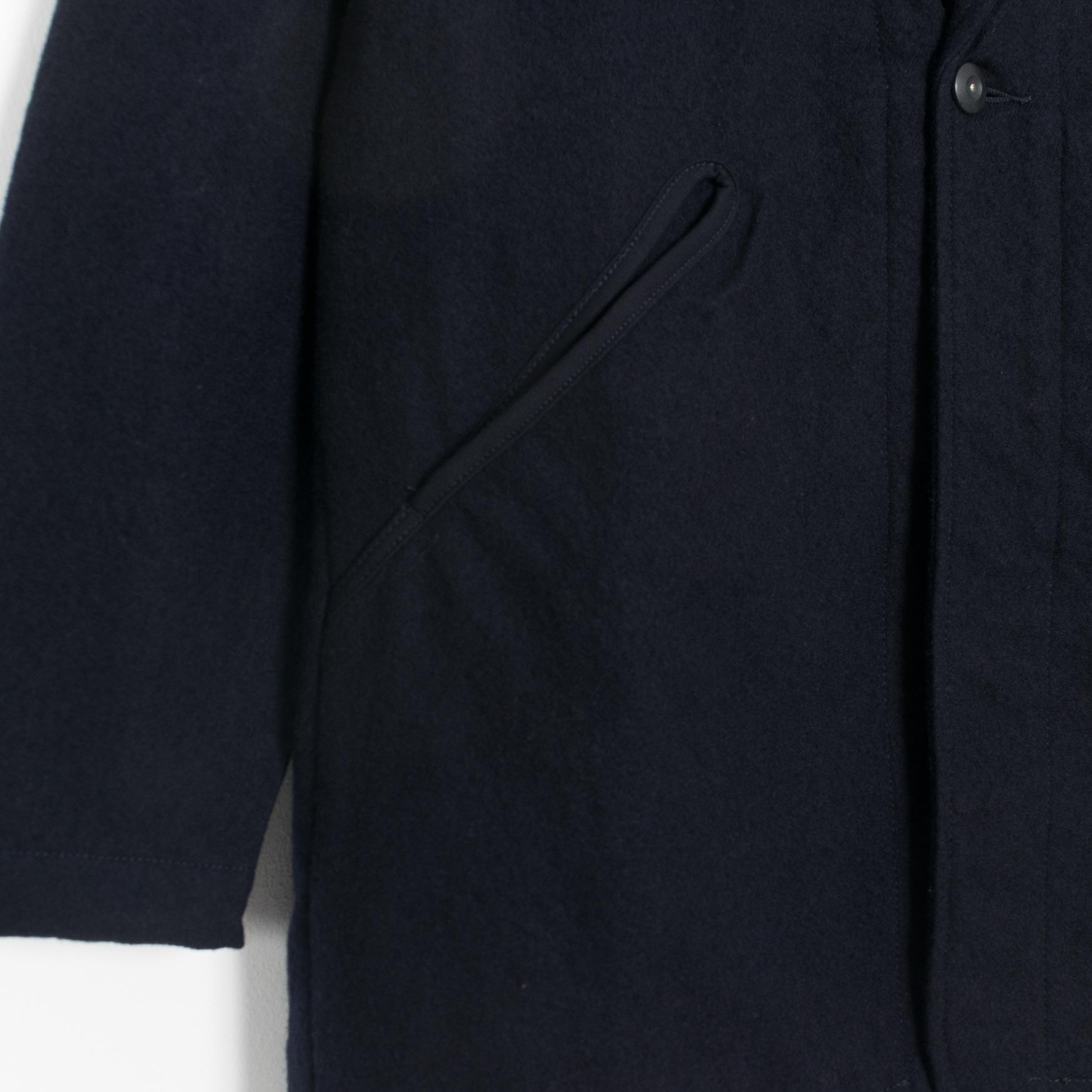 Garbstore Simple Wren Coat - Navy  - CARTOCON