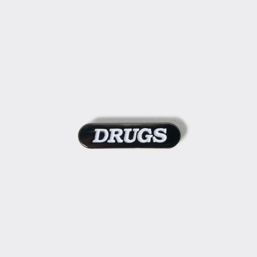 Good Worth Drugs Pin Badge